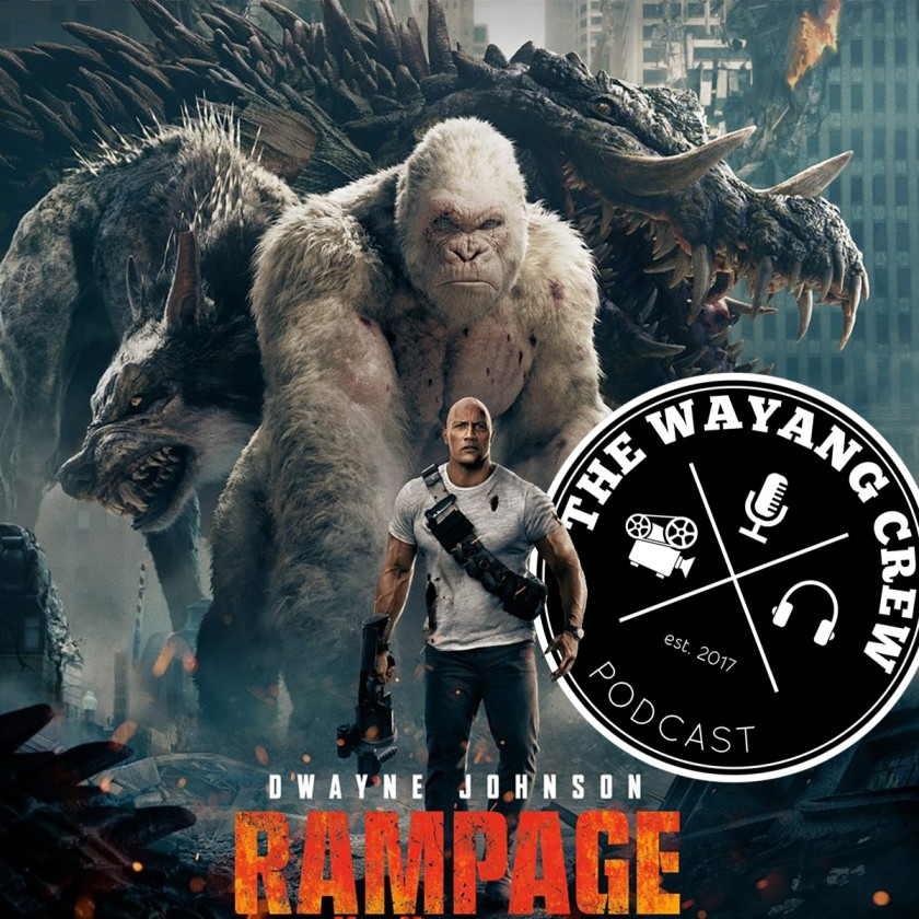 Episode 49 - Rampage REVIEW & MCU Recap Part 8