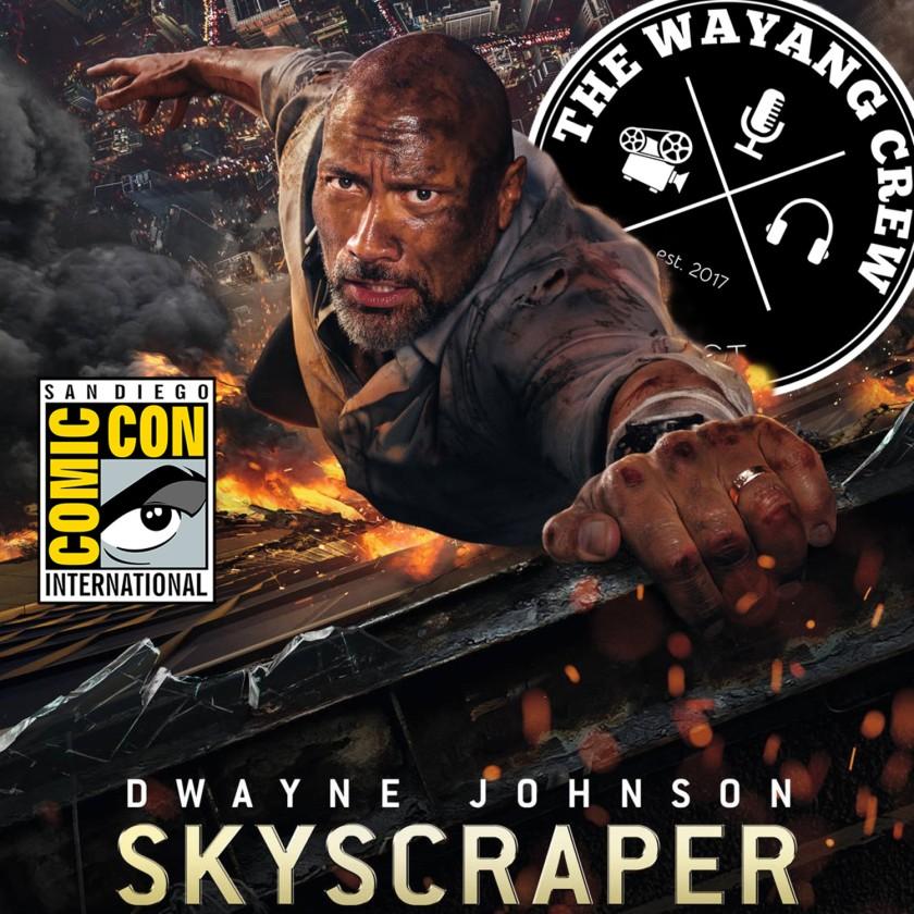 Episode 63 - Comic-Con NEWS & Skyscraper REVIEW