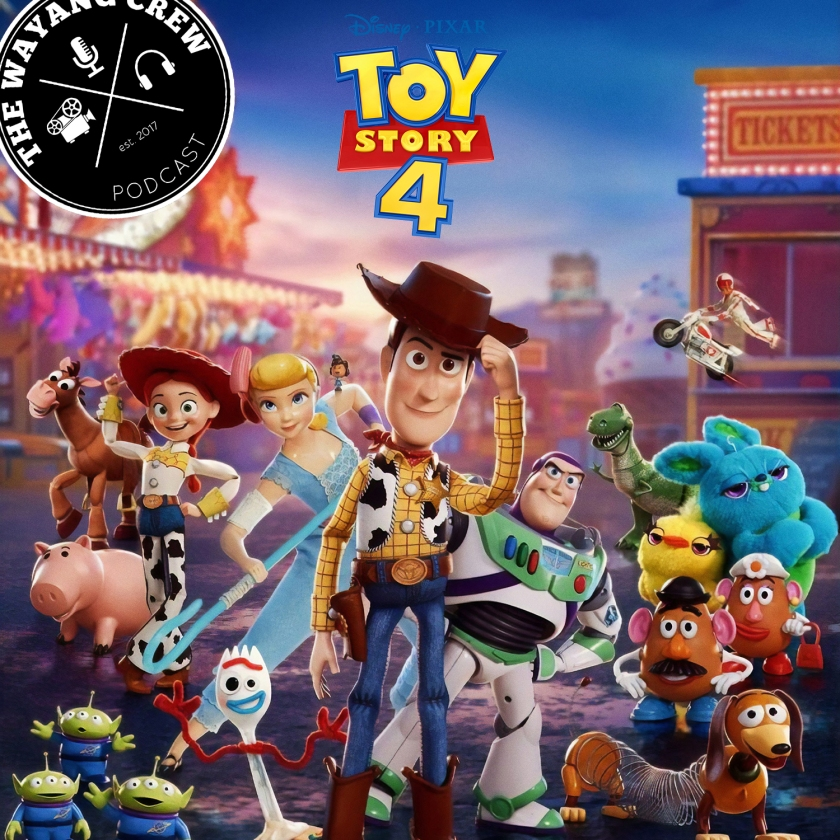 Episode 103 - Toy Story 4 REVIEW